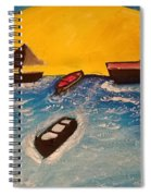 Beautiful Lake Spiral Notebook