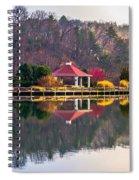 Beautiful Landscape Near Lake Lure North Carolina Spiral Notebook