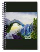 Beautiful Landscape Spiral Notebook