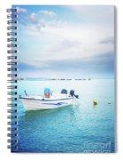 Greek Islands Spiral Notebook
