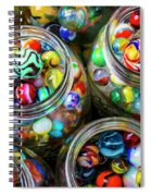 Beautiful Marble Collection Spiral Notebook