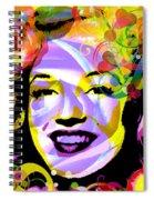 Beautiful Marilyn Monroe Spiral Notebook