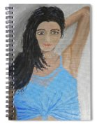 Beautiful Model Spiral Notebook