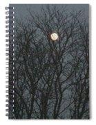 Beautiful Moon Spiral Notebook