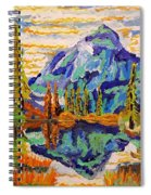 Beautiful Mountainous Reflection  Spiral Notebook
