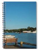 Beautiful Mylor Bridge Spiral Notebook