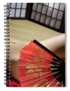Beautiful Naked Woman Body Spiral Notebook