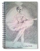 Beautiful Natalia Spiral Notebook