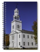 Beautiful Old First Church Spiral Notebook