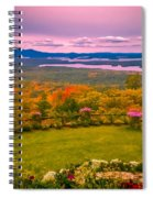Beautiful Overview Of New Hampshire Spiral Notebook