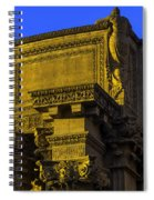 Beautiful Palace Of Fine Arts Spiral Notebook