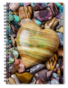 Beautiful Polished Colorful Stones Spiral Notebook