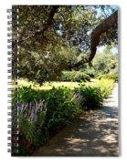 Beautiful Pond Path Spiral Notebook