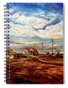 Beautiful Prince Edward Island Maritime Canada Spiral Notebook