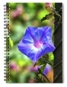 Beautiful Railroad Vine Flower Spiral Notebook