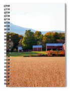 Beautiful Red Barn 1 Spiral Notebook