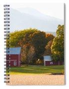 Beautiful Red Barn 3 Spiral Notebook