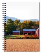 Beautiful Red Barn 4 Spiral Notebook
