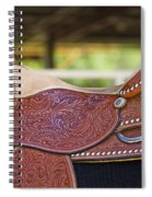 Beautiful Saddle Spiral Notebook