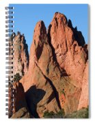 Beautiful Sandstone Spires In Garden Of The Gods Park Spiral Notebook
