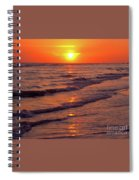 Beautiful Sanibel Sunset Spiral Notebook