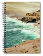 Beautiful Shore Of Nazare, Portugal Spiral Notebook
