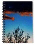Beautiful  Sky Spiral Notebook