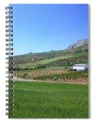 Beautiful Spanish Countryside Spiral Notebook