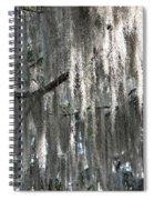 Beautiful Spanish Moss Spiral Notebook
