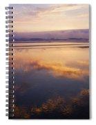 Beautiful Sunset Along Oregon Coast Spiral Notebook