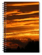 Beautiful Sunset Spiral Notebook