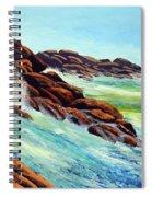 Beautiful Surf Spiral Notebook