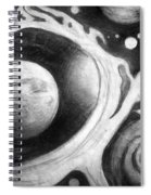 Beautiful Universe. Space Art Spiral Notebook