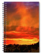 Beautiful Utah Sunset Spiral Notebook