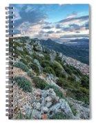 Beautiful View Of Baunei Spiral Notebook