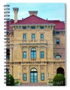Beautiful Villa Spiral Notebook