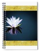 Beautiful Waterlilies Spiral Notebook