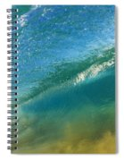 Beautiful Wave Breaking Spiral Notebook