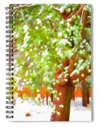Beautiful Winter Tree Spiral Notebook
