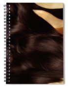 Beautiful Woman With Hair Extensions Spiral Notebook