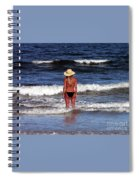 Beauty And The Beach Spiral Notebook