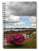 Beauty And The Bench Spiral Notebook