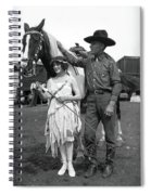 Beauty And The Cowboy Spiral Notebook