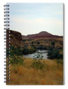 Beauty At The Big Horn River Spiral Notebook