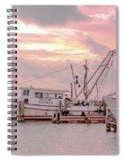 Beauty At The Marina Spiral Notebook