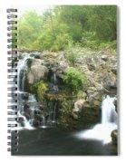 Beauty Falls Spiral Notebook