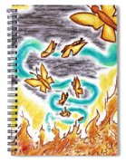 Beauty From Ashes Spiral Notebook