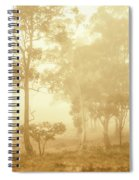Beauty In A Forest Fog Spiral Notebook