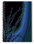 Beauty In A Weed - Colorful Digital Creation Spiral Notebook