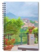Beauty In Capri Spiral Notebook